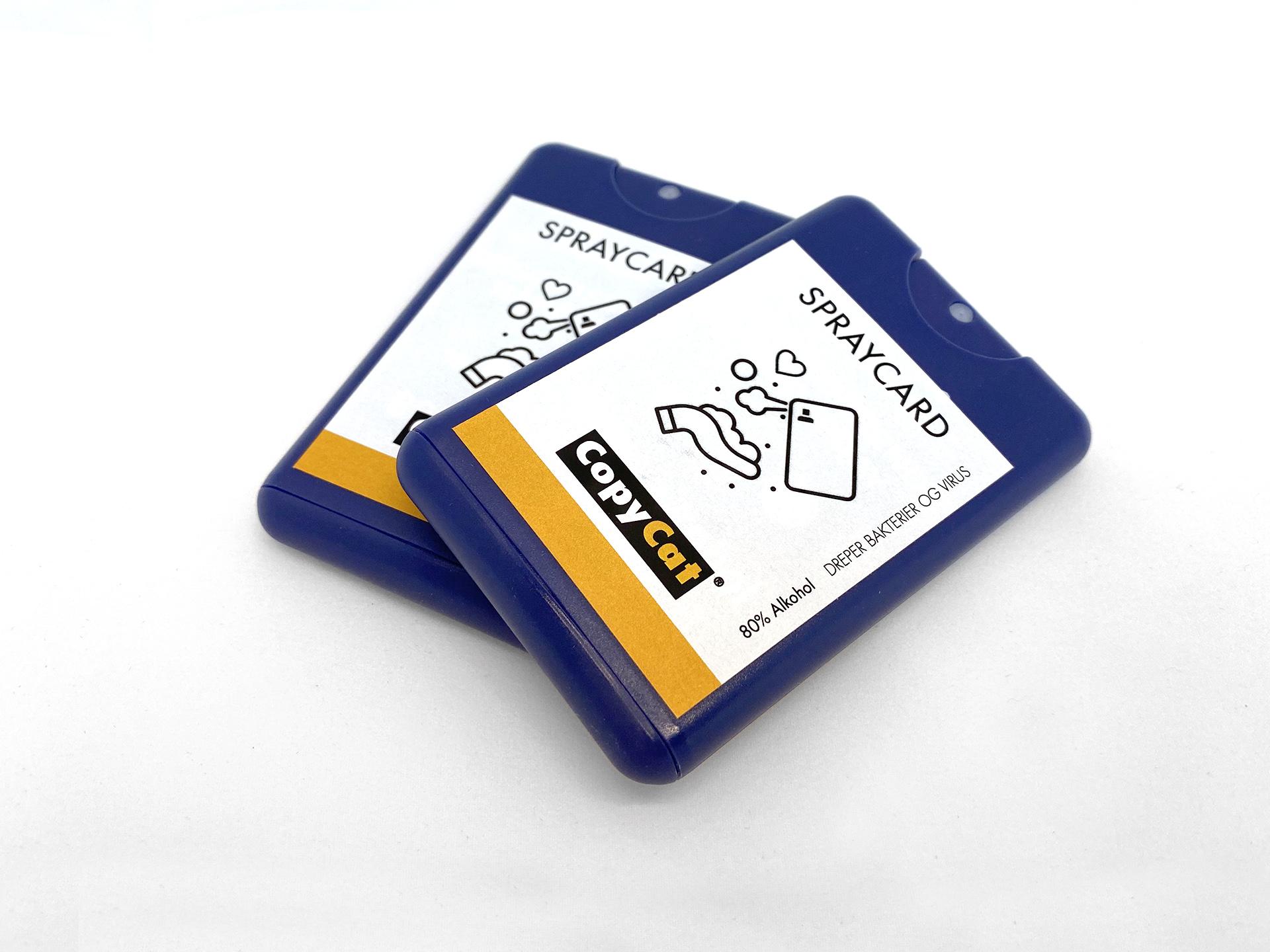 SprayCard